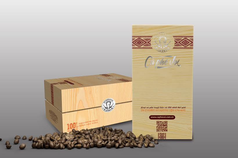 in hộp giấy đựng cà phê đẹp
