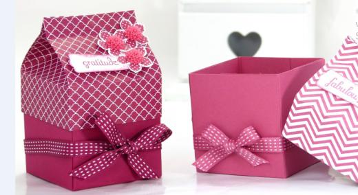 Vỏ hộp giấy quà tặng ấn tượng