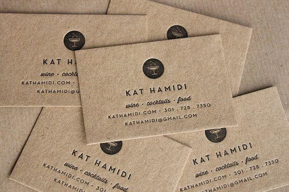 Name card giấy kraft