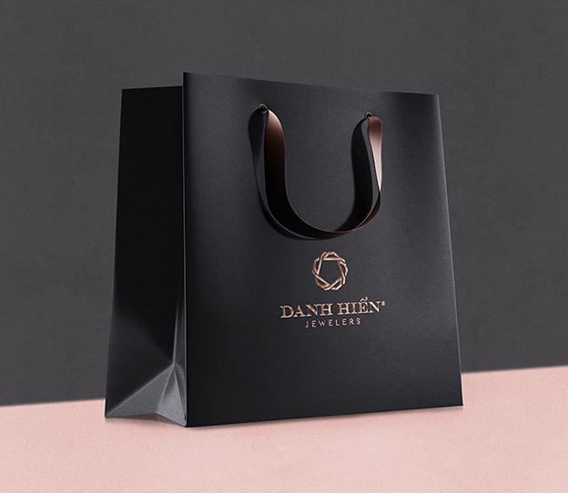 In túi giấy đựng giày patin giá rẻ