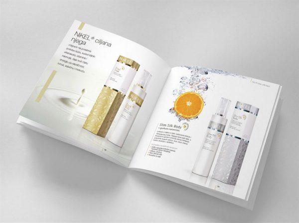 In catalogue quảng cáo mỹ phẩm khổ A4