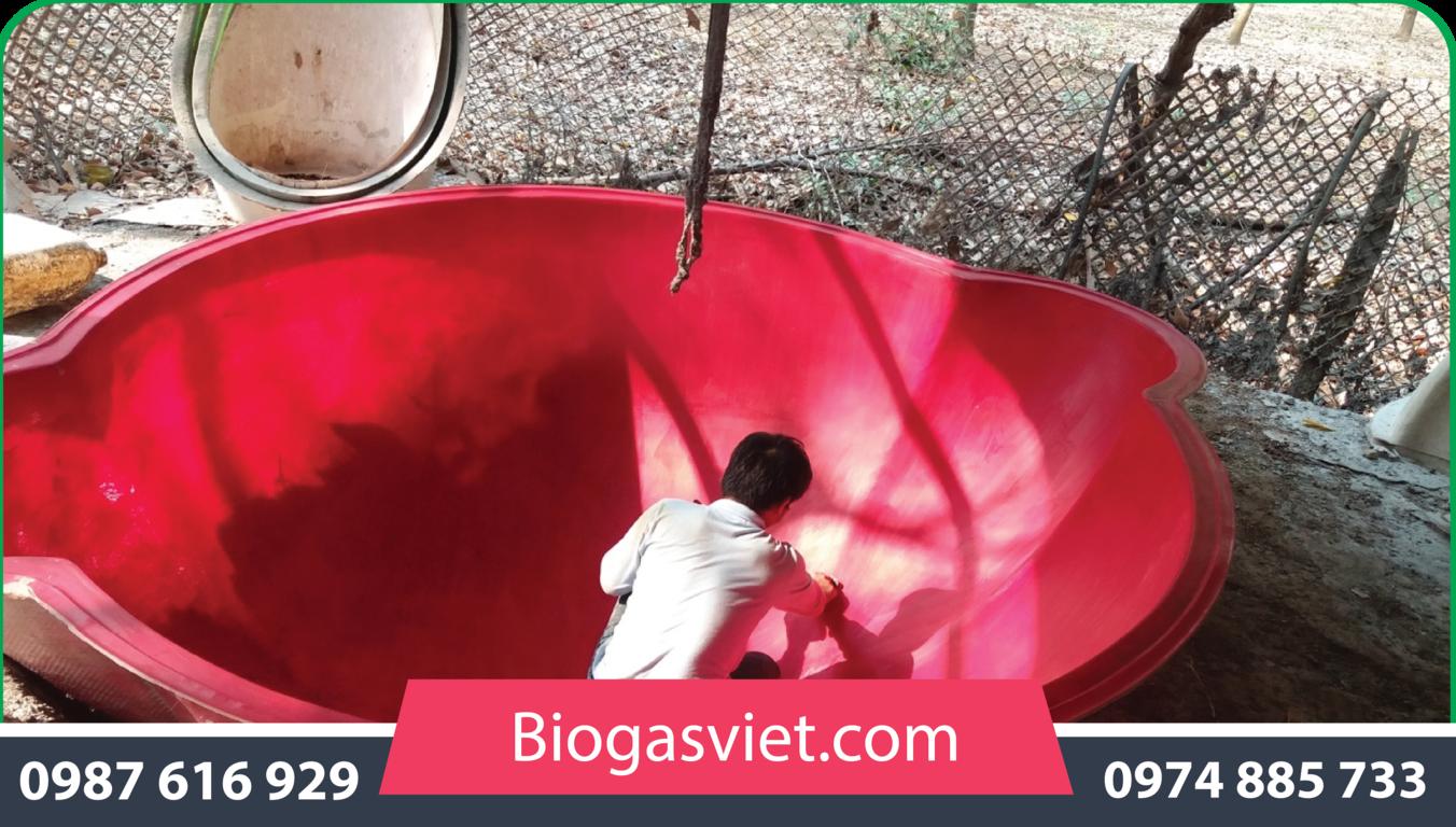 Lựa chọn hầm biogas composite có phải là một điều hợp lý ?