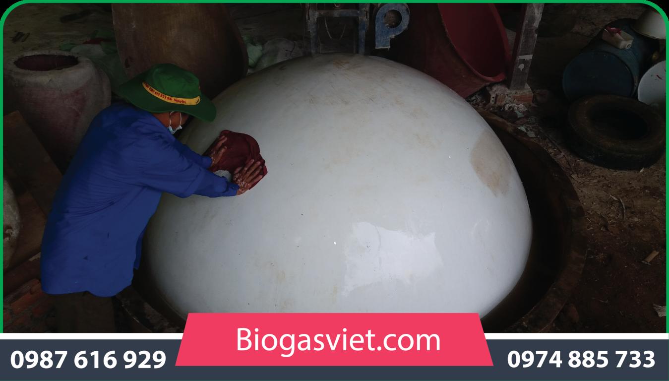 bảng giá bể biogas composite