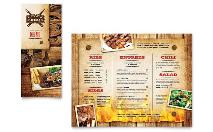 in menu tại tân phú