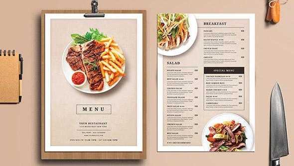 Lựa chọn định dạng tốt nhất cho menu nhà hàng của bạn