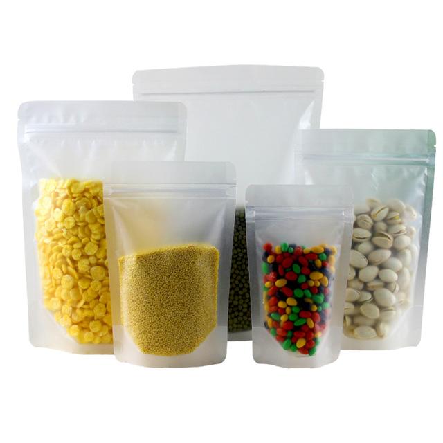 Sử dụng túi giấy đựng ngũ cốc